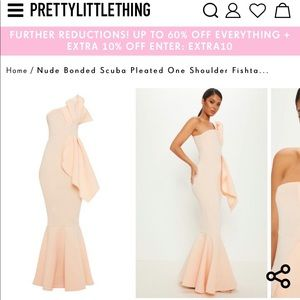 Pretty Little Thing occasion dress